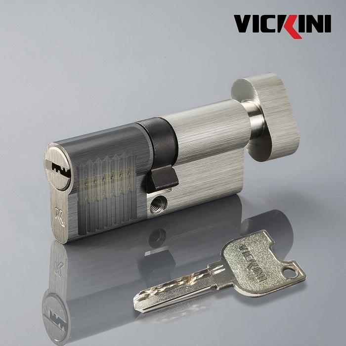 Ruột khóa cửa nẹp thép Vickini