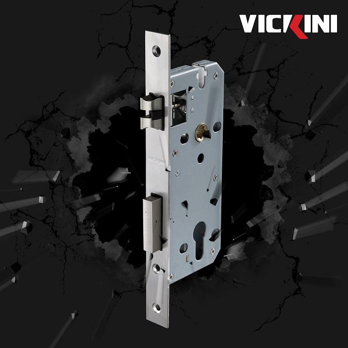 Thân khóa cửa nẹp thép Vickini
